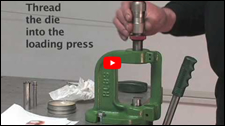 Bullet Tipping Die Demonstration Video